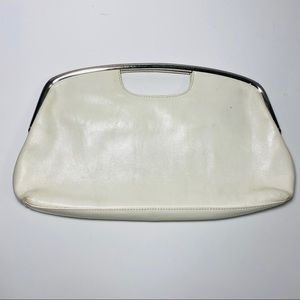 HOBO Bags - HOBO International Ivory Off White Clutch Handbag